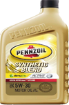 John r young co pennzoil for Pennzoil 5w30 synthetic blend motor oil